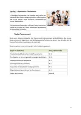 Business Plan Hotel-restaurant Page 6