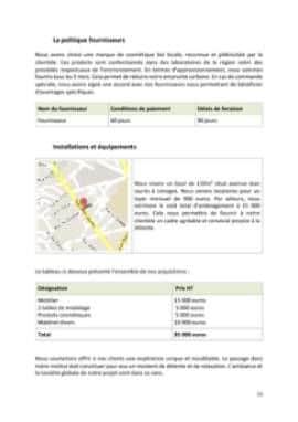 Business Plan Institut-de-beaute Page 11