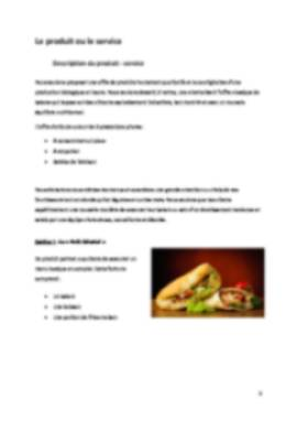 Business Plan Kebab Page 5