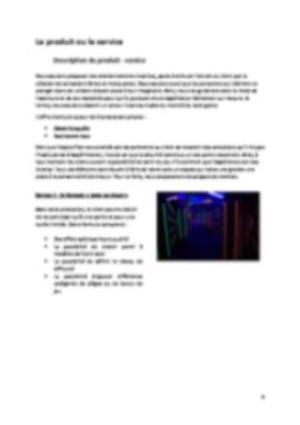 Business Plan Laser-game Page 4