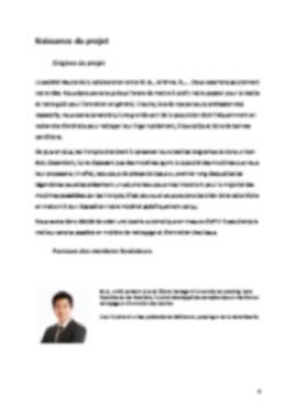 Business Plan Laverie-automatique Page 4