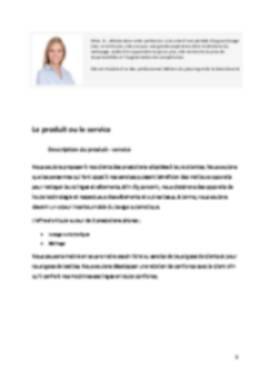 Business Plan Laverie-automatique Page 5
