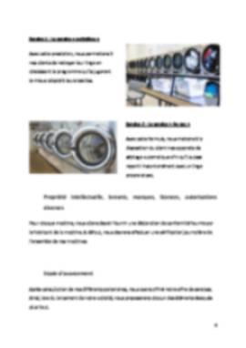 Business Plan Laverie-automatique Page 6