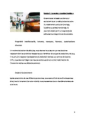 Business Plan Location-voiture Page 6