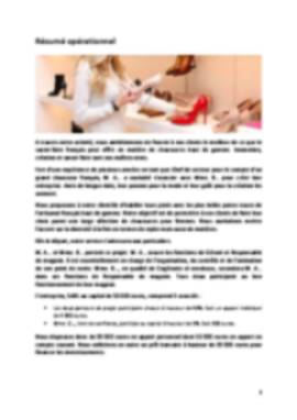 Business Plan Magasin-de-chaussures Page 2