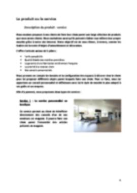 Business Plan Magasin-decoration Page 4