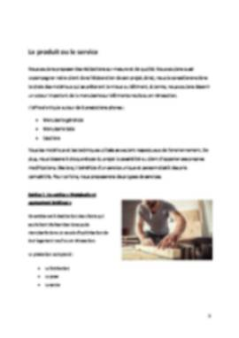Business Plan Menuiserie Page 5