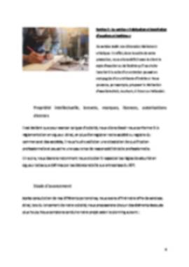 Business Plan Menuiserie Page 6