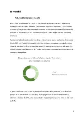 Business Plan Menuiserie Page 9