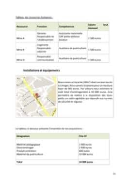 Business Plan Micro-creche Page 11