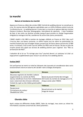 Business Plan Organisateur-de-mariages-wedding-planner Page 6