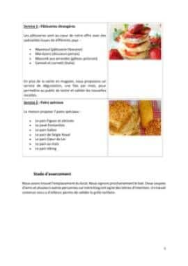 Business Plan Patisserie Page 5