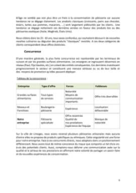 Business Plan Patisserie Page 9