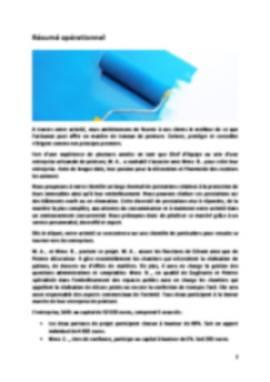 Business Plan Peintre-en-batiment Page 2