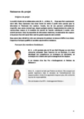 Business Plan Peintre-en-batiment Page 4
