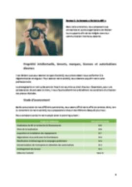 Business Plan Photographe Page 6