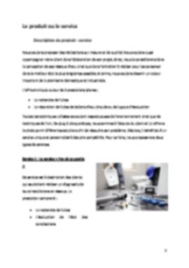 Business Plan Plombier Page 5