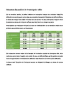 Business Plan Reprise-entreprise Page 14