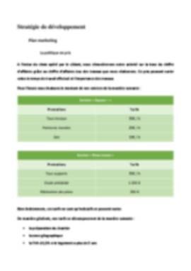 Business Plan Reprise-entreprise Page 16