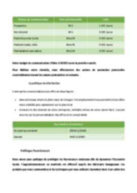 Business Plan Reprise-entreprise Page 18