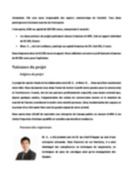Business Plan Reprise-entreprise Page 4