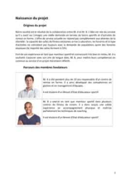 Business Plan Salle-de-fitness-salle-de-sport Page 3