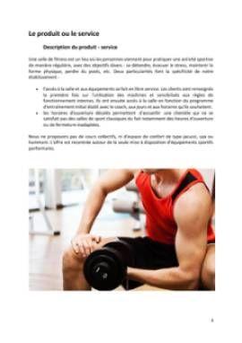 Business Plan Salle-de-fitness-salle-de-sport Page 4