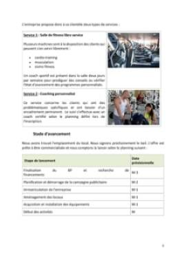 Business Plan Salle-de-fitness-salle-de-sport Page 5
