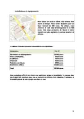 Business Plan Salon-de-coiffure Page 12