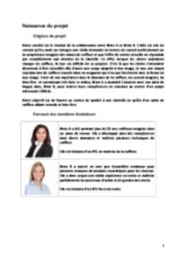 Business Plan Salon-de-coiffure Page 3