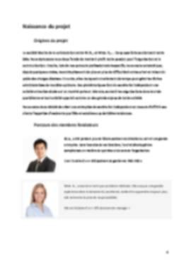 Business Plan Secretariat Page 4