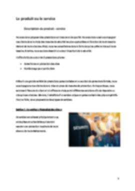 Business Plan Securite Page 5