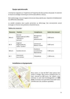 Business Plan Services-a-la-personne Page 12