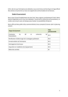Business Plan Services-a-la-personne Page 6