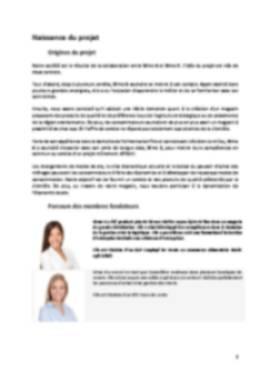 Business Plan Superette Page 3