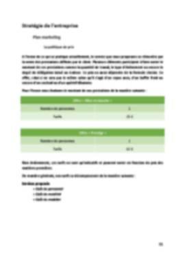 Business Plan Traiteur Page 11