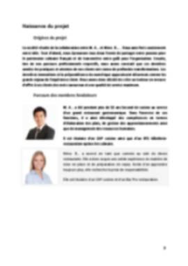 Business Plan Traiteur Page 3