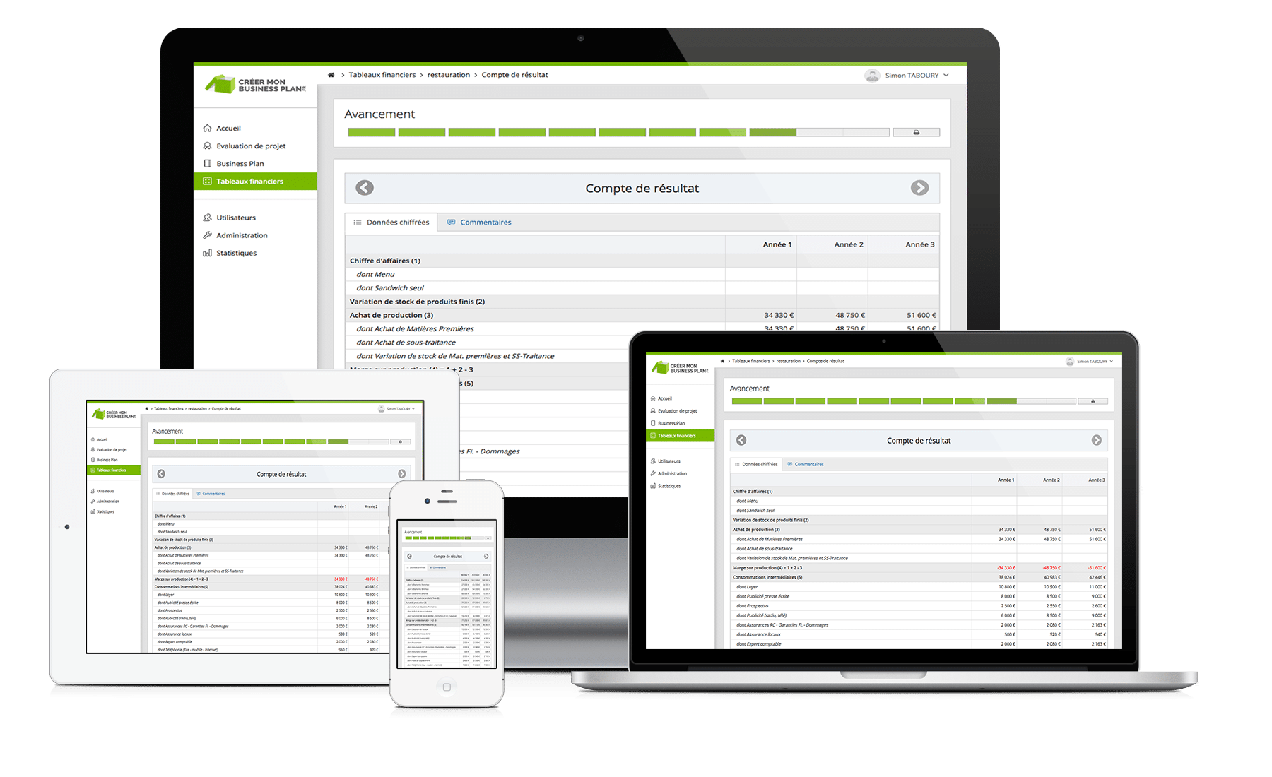 logiciel simulation financiére